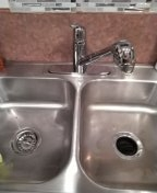 Mission Viejo, CA - Changed faucet and drain