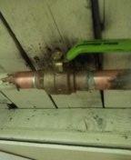 Palos Verdes Estates, CA - Installed new ball valve, cleaned condenser coil