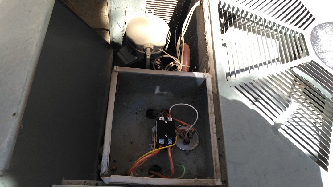 Rancho Cucamonga, CA - A/c repair new contactor and new dual capacitor