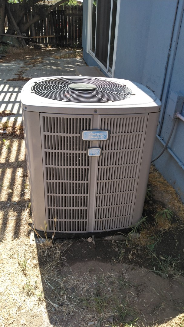 Pomona, CA - Fixed A/C freon leak caused by nails from roofing company