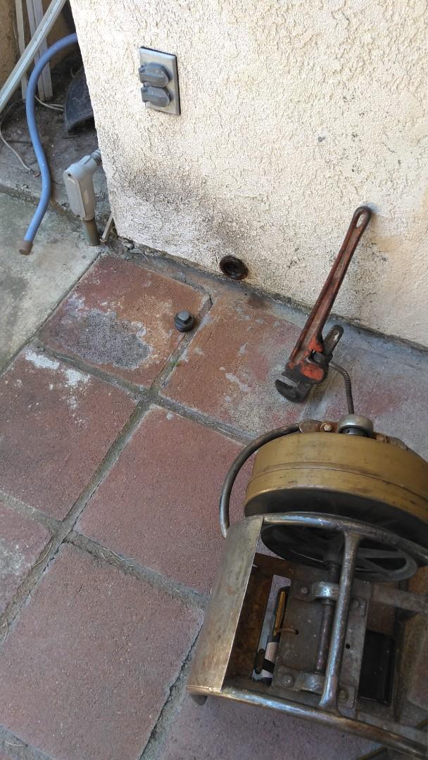 Glendora, CA - Kitchen Stoppage