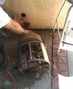 Rancho Santa Margarita, CA - Snake kitchen drain