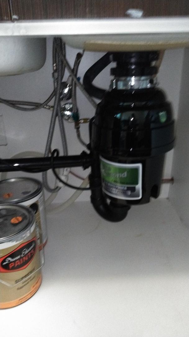 Pasadena, CA - Disposal installed