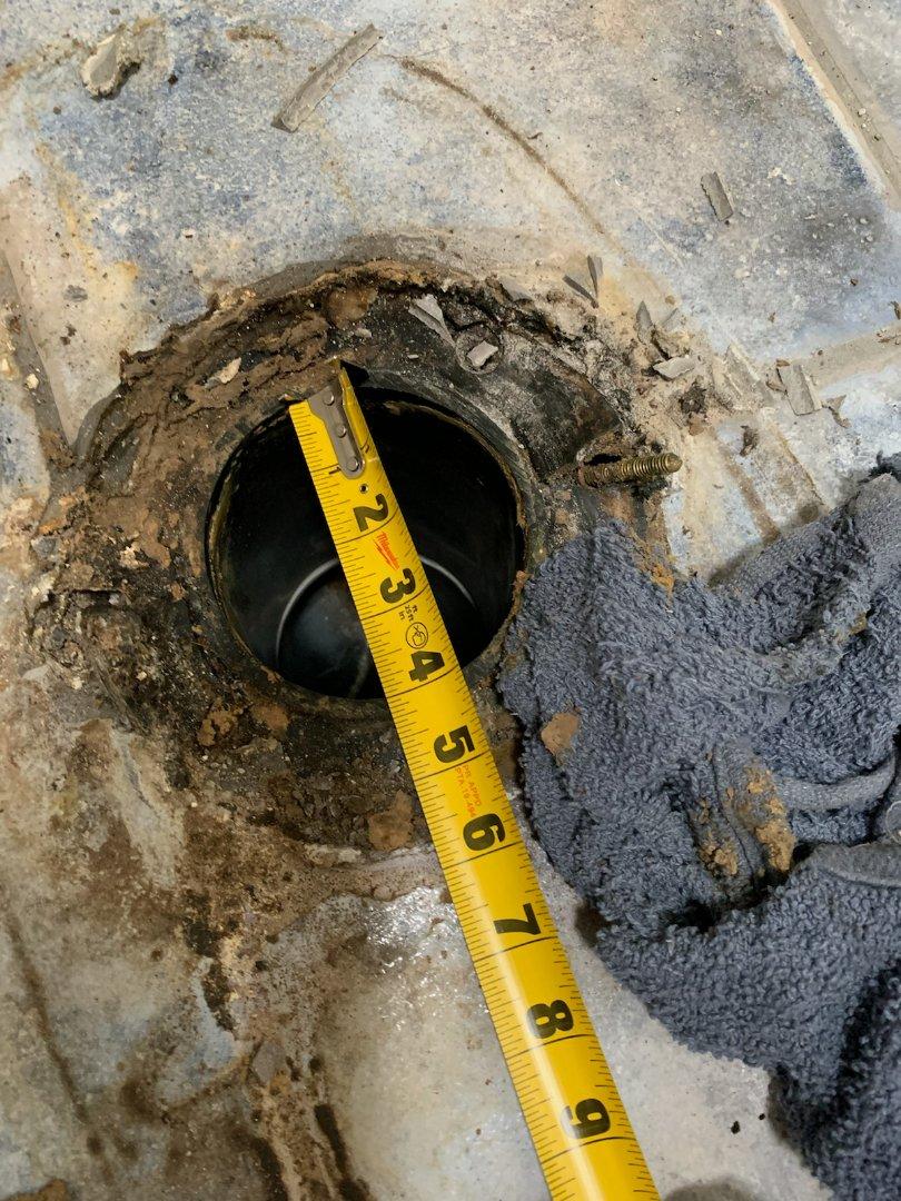 Costa Mesa, CA - Replace toilet flange