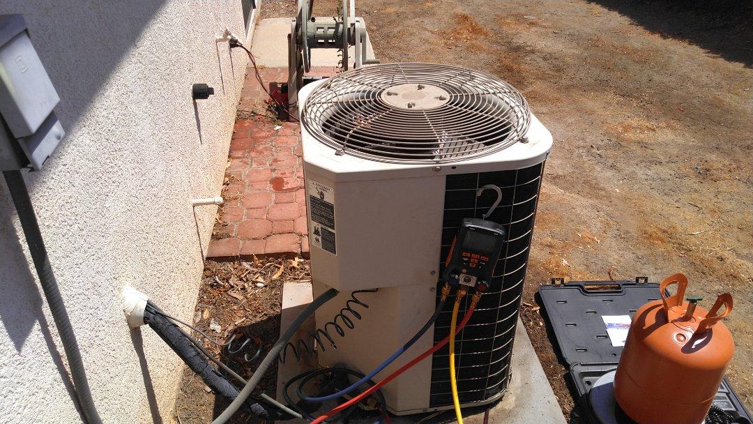 Corona, CA - Supercharged freon with 407C