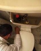 La Puente, CA - Allis sandavol Toilet fill valve installed