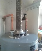 Glendale, CA - Changed to hard pipe and drained water heater