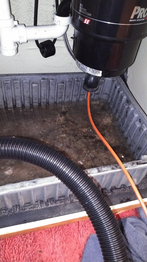 Montclair, CA - Kitchen Stoppage hydrojetting