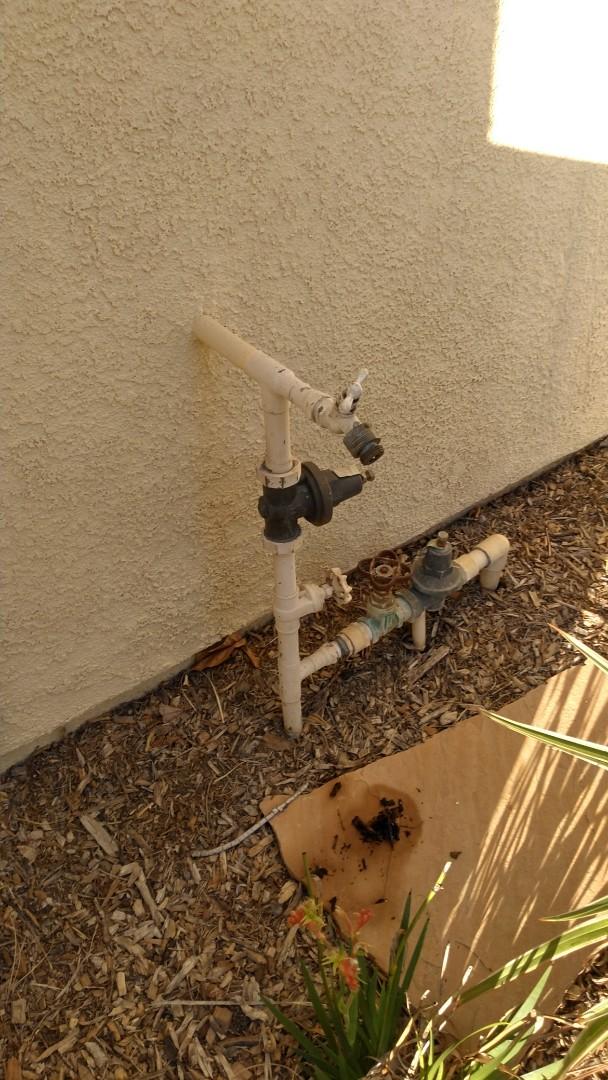 Rancho Cucamonga, CA - Water pressure regulator not working