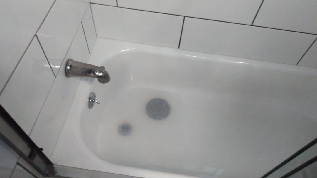 La Puente, CA - Cleared out tub/shower drain stoppage