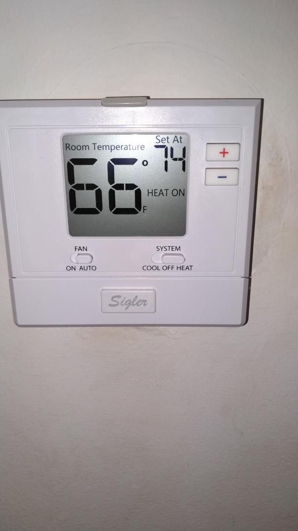 Gas heating valve
