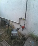 Montebello, CA - Installed an earthquake valve and rerouted the gas lines