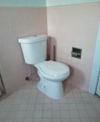 Los Angeles, CA - Install new costumer own toilet.