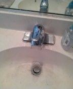 La Verne, CA - New faucet install