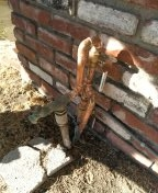 Westminster, CA - Replace ball valve & pipe work