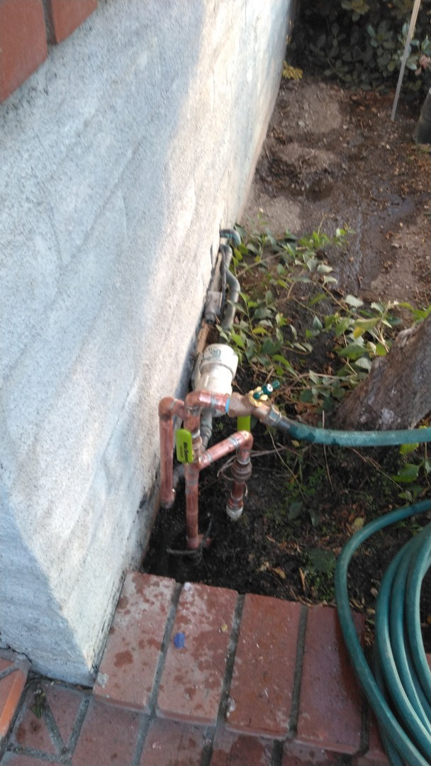 Temple City, CA - Install two new ball valves and new hose bib