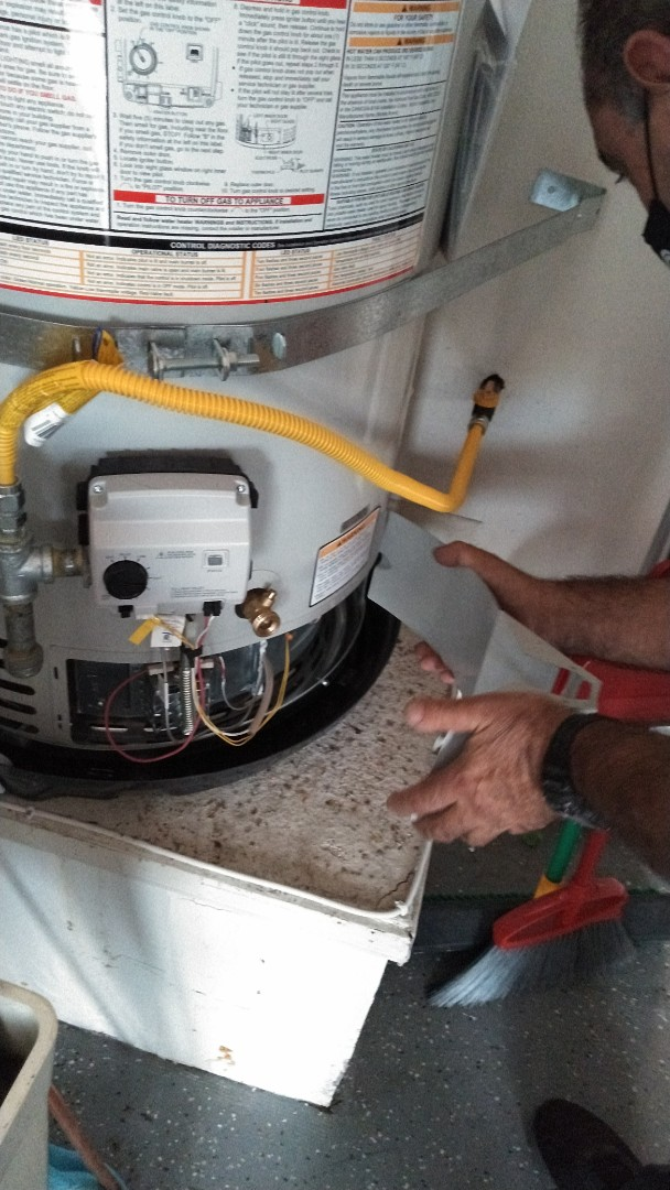 Laguna Niguel, CA - Water heater installed
