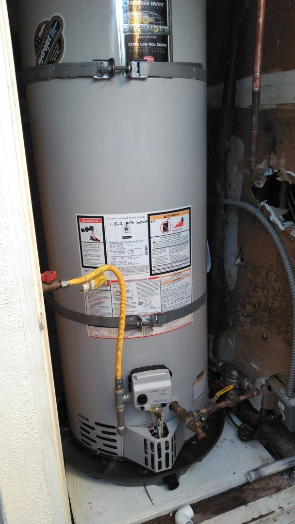 Newport Beach, CA - Water heater installation