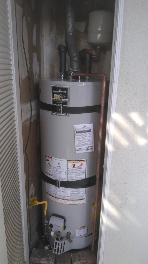 Villa Park, CA - Installed new 50 gallon water heater
