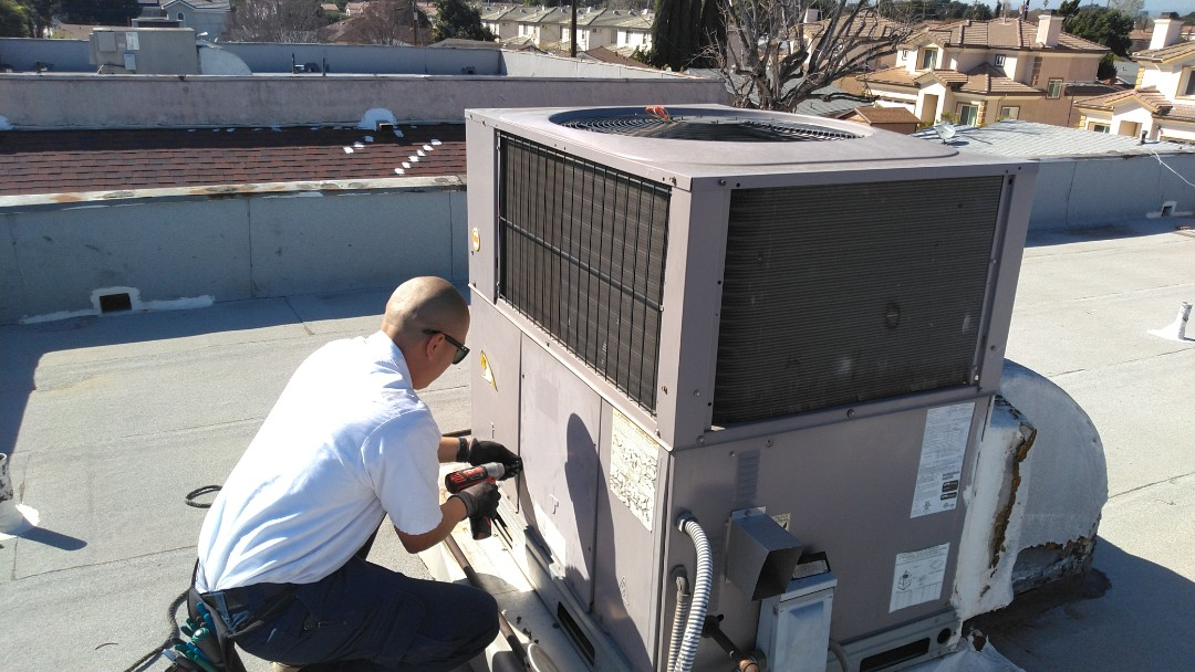 Temple City, CA - Installed new blower motor new pressure switch and limit switch sensor