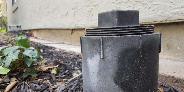 Glendora, CA - Sewer stoppage