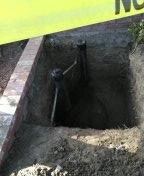 Laguna Hills, CA - Sewer line repair