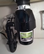 Install a new garbage disposal
