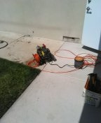 Teaching hydro jetter and cable kitchen laundry