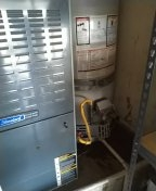 Santa Ana, CA - Service furnace and check the water heater