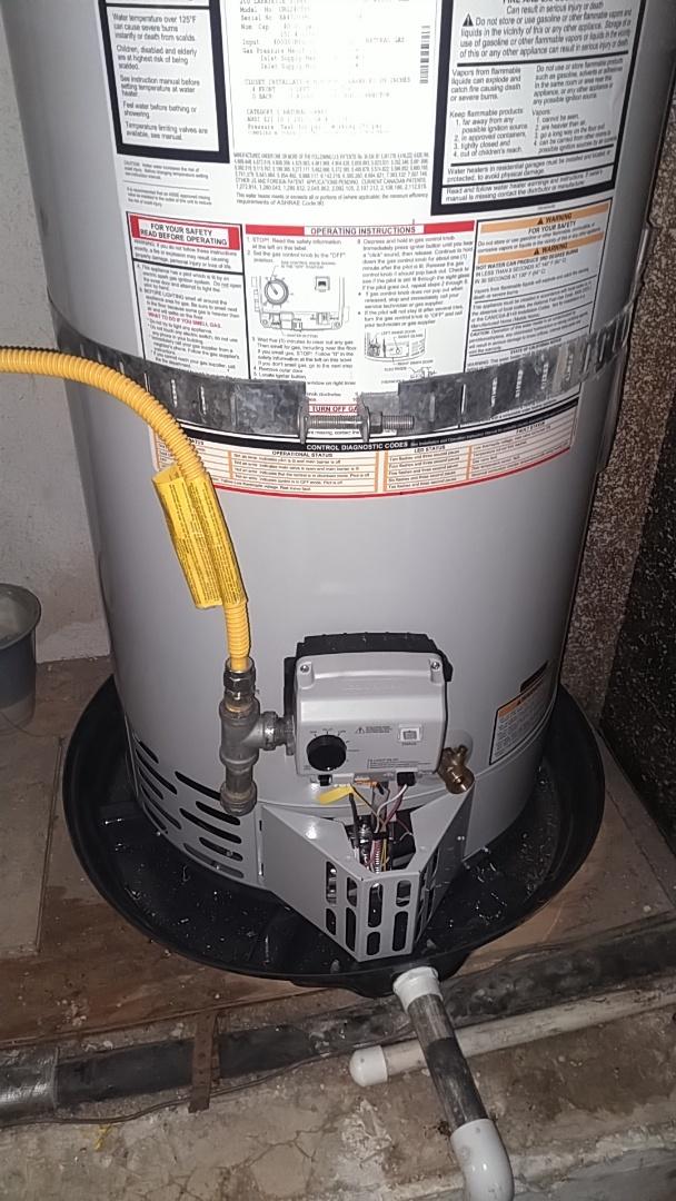 Santa Ana, CA - Water heater instal