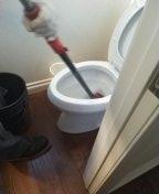 Aliso Viejo, CA - Auger toilet