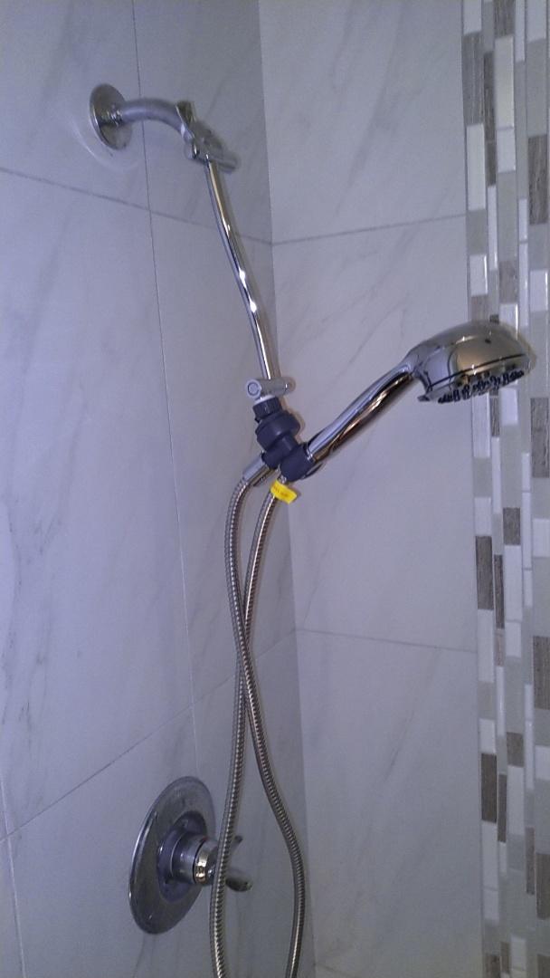 Westminster, CA - Shower trim install