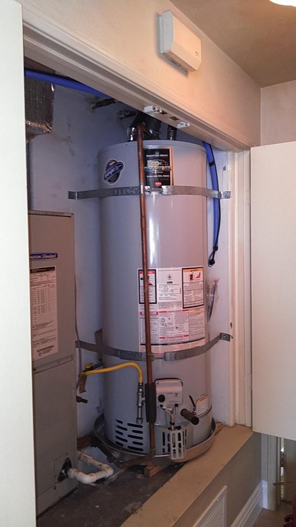Newport Beach, CA - Water heater install