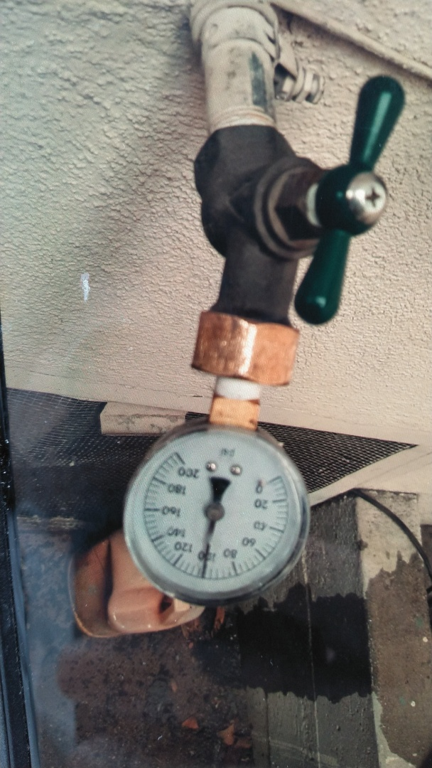 San Gabriel, CA - Left an estimate on new water pressure regulator