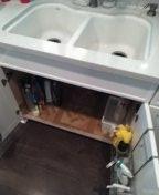 Huntington Beach, CA - Hydrojetted kitchen drain