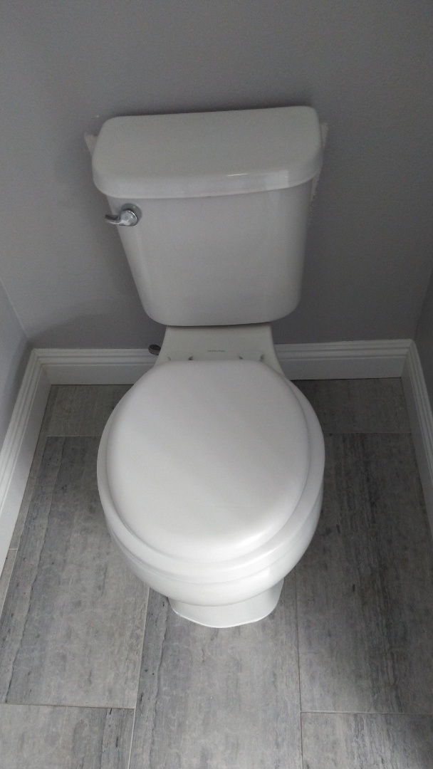 Moorpark, CA - Install new toilet in the guest bathroom.