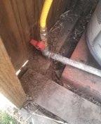 Gas leak repair