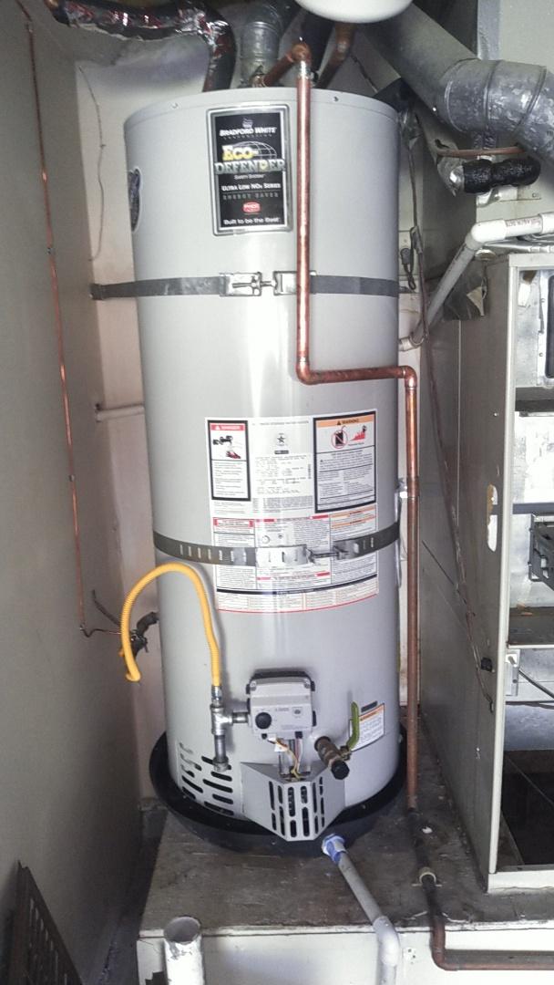 Rancho Santa Margarita, CA - Water heater installed