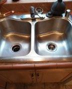 Kitchen sink stoppage