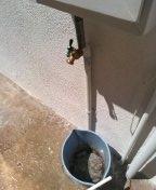 Install new hose faucet