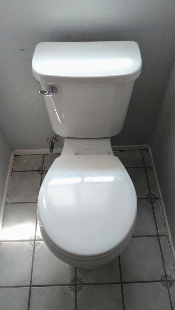 Moorpark, CA - Install new toilet in the upstairs bathroom.