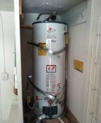 Irvine, CA - Need correct size water heater.  water heaters is too Tall