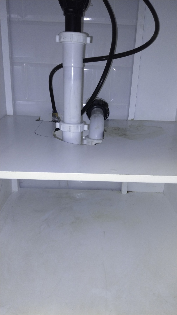 Pomona, CA - Cleared lavy sink