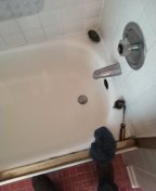 Irvine, CA - Shower stoppage