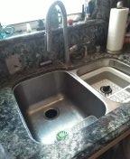 Irvine, CA - Snake kitchen drain