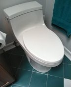 Torrance, CA - Installed toilet