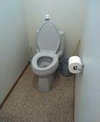 San Clemente, CA - Auger toilet