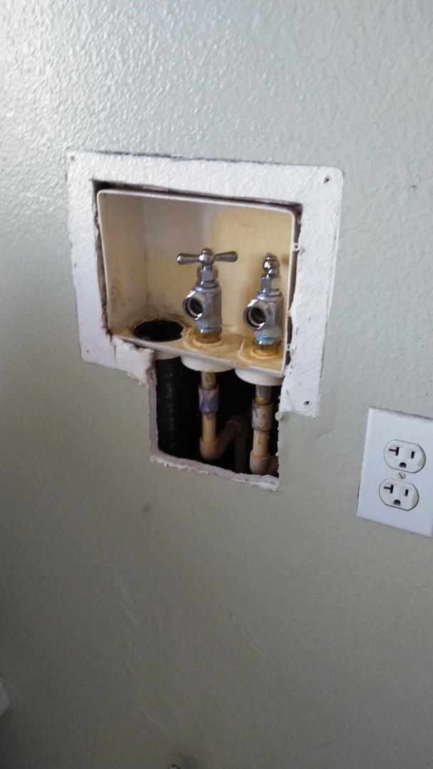 Hot cold wash machine bib