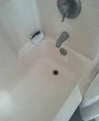 Shower tub stoppage