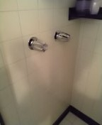 Complete rebuild two handle shower valve.